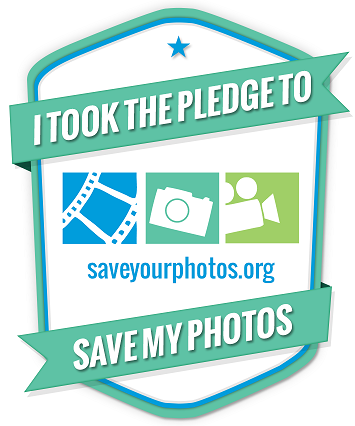 Save Your Photos Pledge
